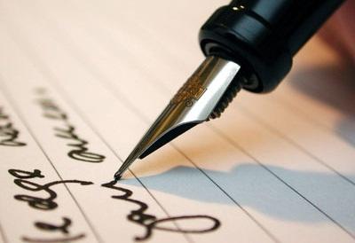 therapie-ecriture stylo plume sur le papier
