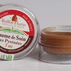 Le baume de soin des Pyrénées pour laisser nos lèvres faire le plein d'hydratation