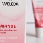 Le Fluide Confort Absolu Weleda pour peaux sensibles à l'Amande