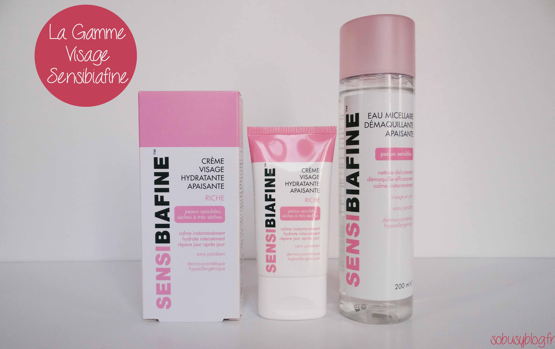 La routine visage Sensibiafine pour les peaux sensibles
