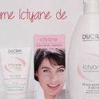 La gamme nourrissante Ictyane de Ducray pour les peaux sèches, archi sèches