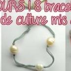 CONCOURS : 8 bracelets en perles de culture à gagner ! [Terminé ]