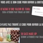 Tentez de gagner 1 500€ de bon d'achat et plein de cadeaux avec NRJ Banque Pop' !